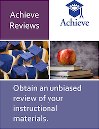 Achieve Reviews of Instructional Materials