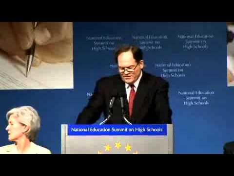 Embedded thumbnail for National Education Summit on High Schools - Ed Rust