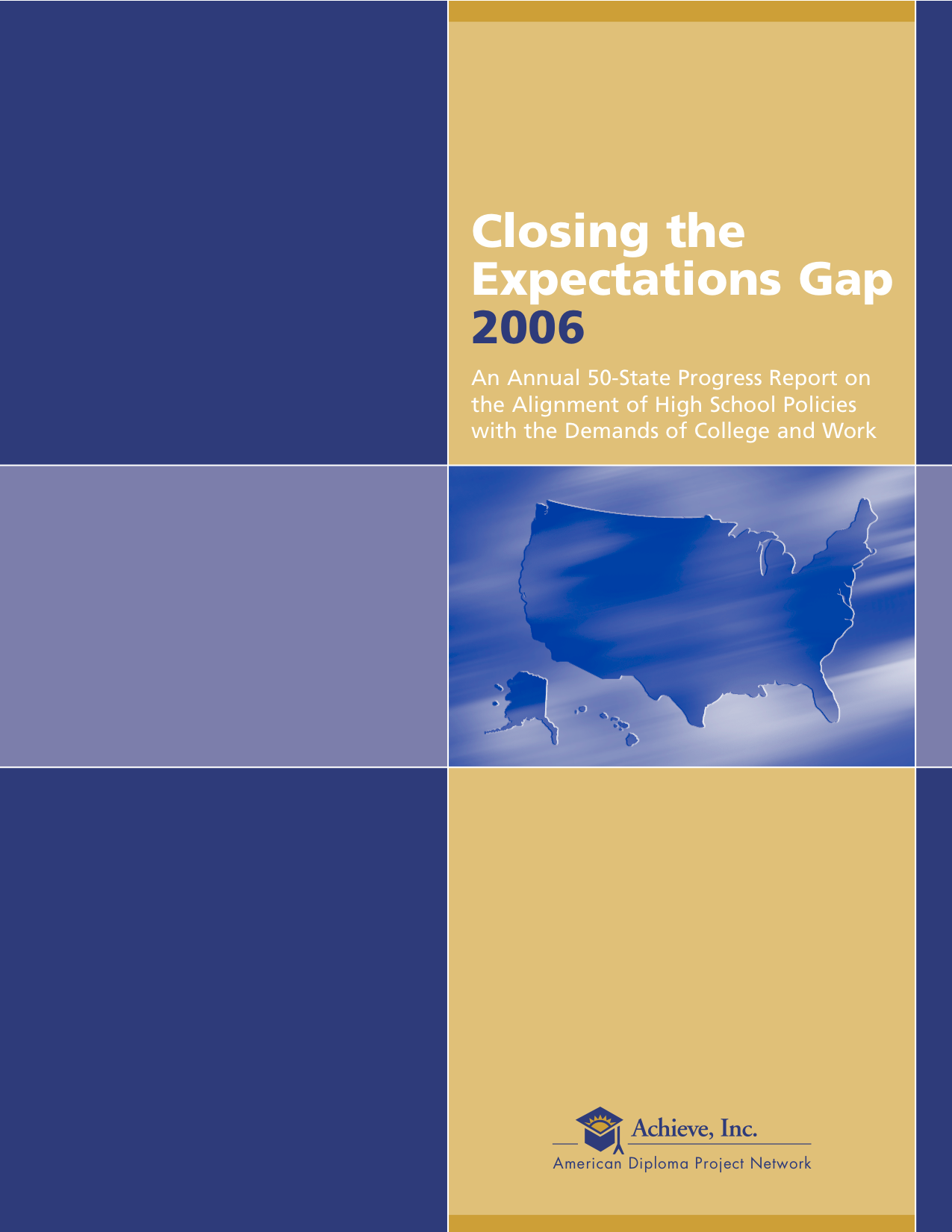 Cover of Closing the Expectations Gap 2006