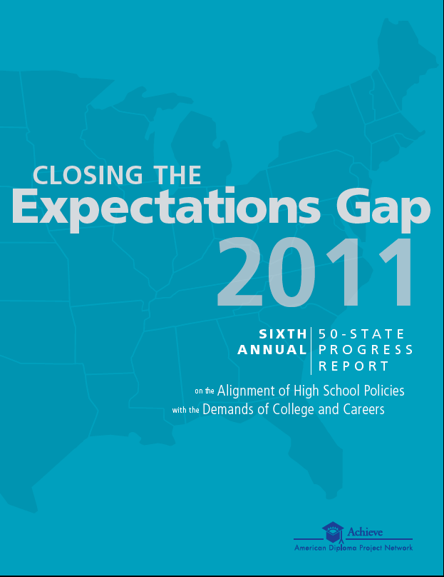 Cover of Closing the Expectations Gap 2011