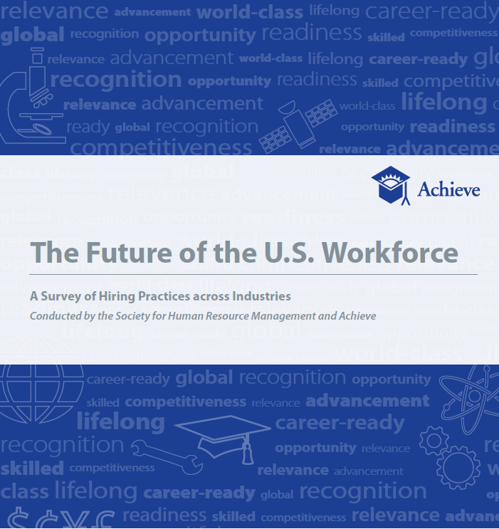 A Survey by Achieve/SHRM of Hiring Practices across Nine Industries Cover