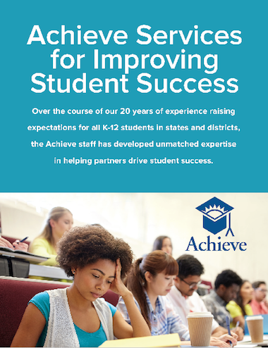 Achieve Services for Improving Student Success