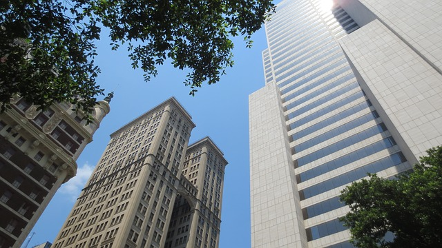 A picture of buildings in Dallas.