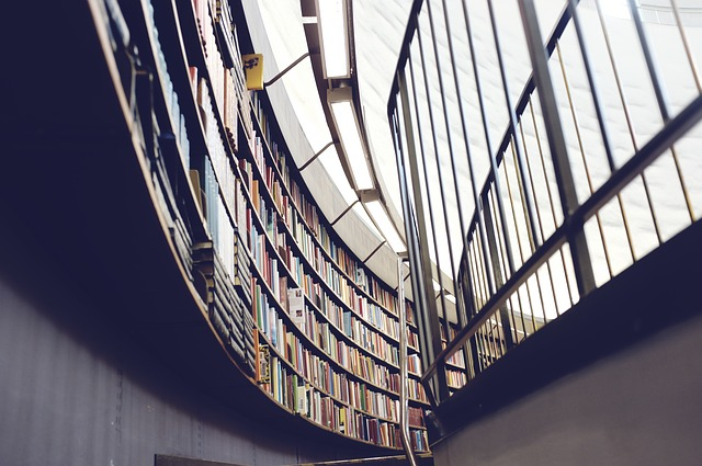 Picture of a resource library.