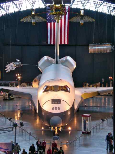 Picture of space shuttle.