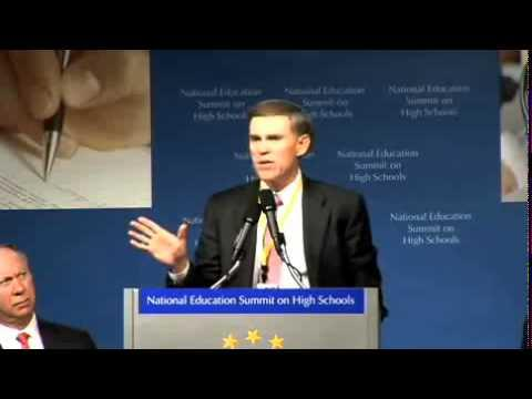 Embedded thumbnail for National Education Summit on High Schools Moving the State Agenda