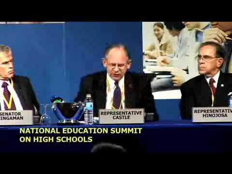Embedded thumbnail for National Education Summit on High Schools Panel Discussion: The Federal-State Partnership