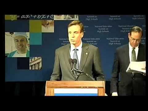 Embedded thumbnail for National Education Summit on High Schools - Second Day Press Conference